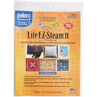 Pellon EZ Steam II Lite 12 X9 Sheets 5/Pkg - White