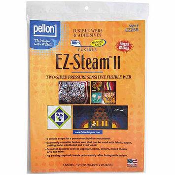 Pellon EZ Steam II 12 X9 Sheets 5/PKG - White