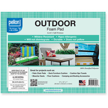 Pellon Outdoor Foam Pad -Densified Polyester (Set of 2)