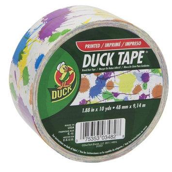 Shurtech 280321 1.88 in. X 10 Yards Paint Splatter Duck Tape