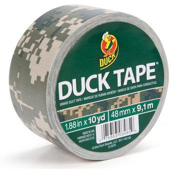 Shurtech 1378542 1.88 in. X 10 Yards Digital Camouflage Duck Tape
