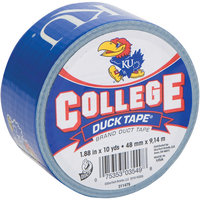 Shurtech 483366 College Logo Duck Tape 1.88 in. Wide 10 Yard RollUniversity Of Kansas