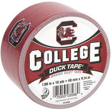 Shurtech 483375 College Logo Duck Tape 1.88 in. Wide 10 Yard RollSouth Carolina