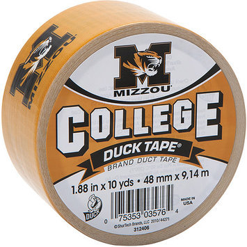Shurtech 158722 College Logo Duck Tape 1.88 in. Wide 10 Yard RollMissouri