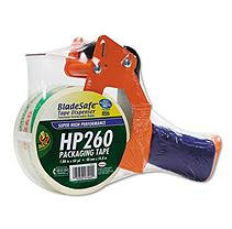 DUCK Bladesafe Antimicrobial Tape Gun w/Tape, 3