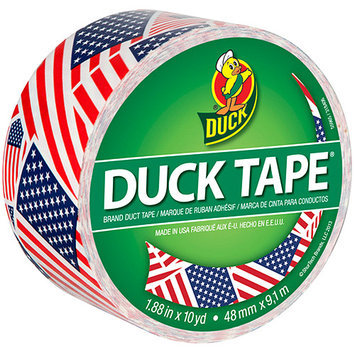 ShurTech PDT-046 Patterned Duck Tape 1.88 in. X10yd-US Flag