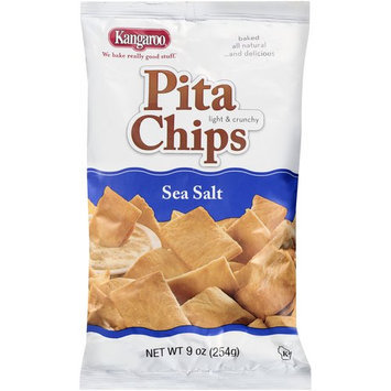 Kangaroo Sea Salt Pita Chips, 9 oz