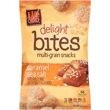 Life Choice Delight Bites Caramel Sea Salt Multi-Grain Snacks, 5 oz