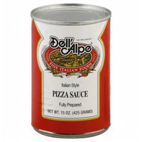 KeHe Distributors 15301 DELL ALPE SAUCE PIZZA - Case of 12 - 15 OZ