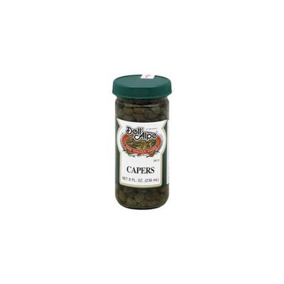 Dell Alpe Capers In Vinegar 8 Oz. - Case of 12