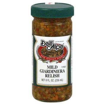 Dell Alpe Relish - Mild Giardiniera 8 Oz. - Case of 12