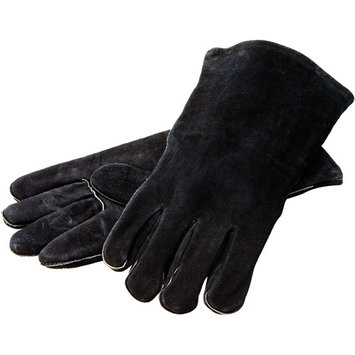 Lodge 40638 Leather Gloves in Red