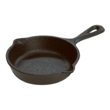 Lodge Manufacturing 3 Inch Pre-seasoned Cast Iron Mini-Skillet