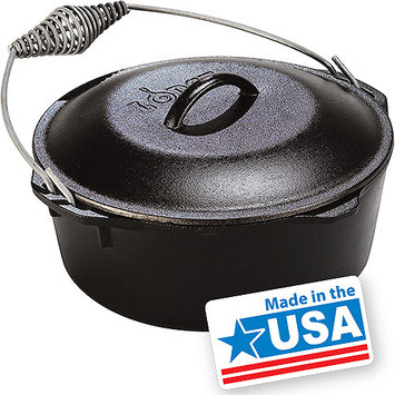 Lodge Logic 9-Quart Cast Iron Dutch Oven
