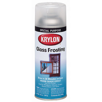 Krylon Frosted Glass Finish 12 Oz. Can Frosted Glass Finish 265WU1FSQM