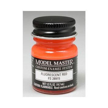 FLUORESCENT RED (FS 28915) 1/2 oz Enamel Paint Bottle - Testors