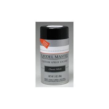 Testors Model Master Automotive Enamel Classic White Spray TESR3420 TESTORS PAINT