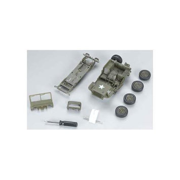 Testor Corporation 630019 Jeep Willys 1/32 Scale Jeep Willys 1:32 Scale - Each