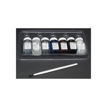 Testors Model Car Enamel Hobby Paint Kit (9119X)