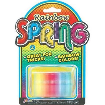 Bulk Buys Springs Slinky Rainbow Color - Case of 12