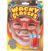 DDI 1186750 Silly Straw Wacky Glasses