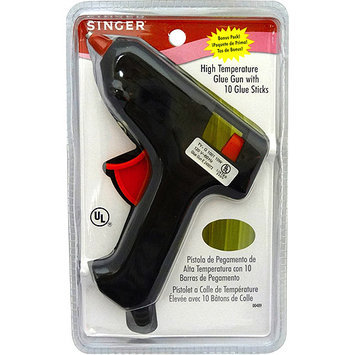 Singer High-Temp Glue Gun W/10 Glue Sticks