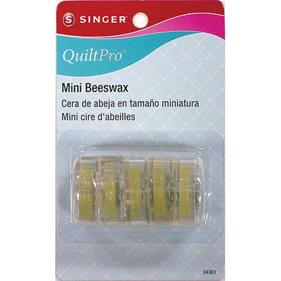 Singer QuiltPro Mini Beeswax-5/Pkg