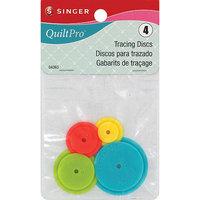 Singer QuiltPro Tracing Discs-4/Pkg