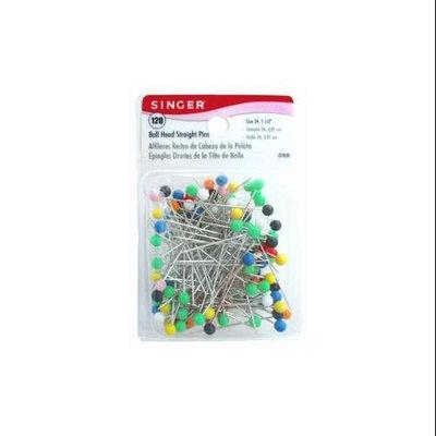 Singer 7030 Ball Head Straight Pins-Size 24 120-Pkg