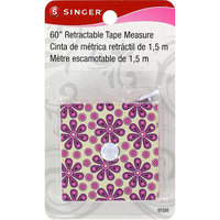Singer NOTM262275 - Sew Cute Decorative Retractable Tape Measure