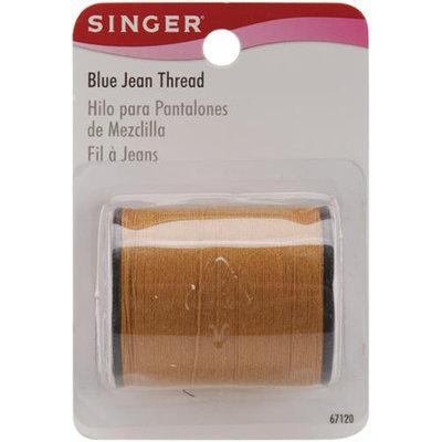 Singer 23603 Blue Jean Thread 100 Yards-Old Gold