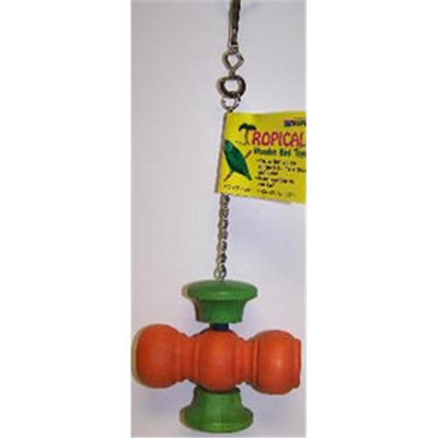 Votoy 814-07583 Vo-Toys Big Spinner Wooden Bird Toy