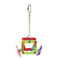 Votoy 814-74318 Vo-Toys Acrylic Poker Theme Mobile Medium Bird Toy