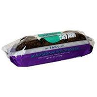 San-J 36245 Black Sesame Brown Rice Crackers