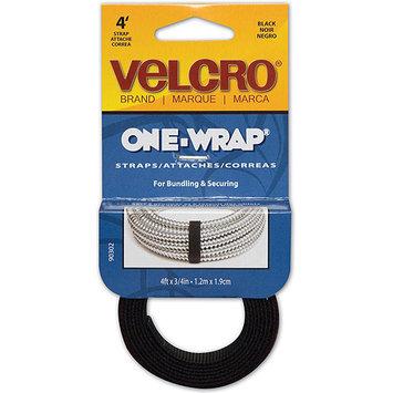 Velcro USA 90302 Get-A-Grip Straps, Black