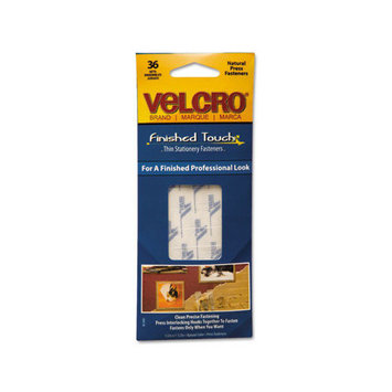 VELCRO USA INC. 91391 Hook To Hook Fasteners Clear