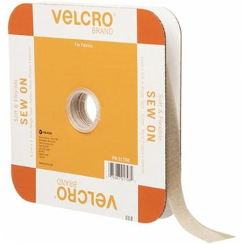 Velcror Brand Fasteners Velcro(R) Brand Sew-On Soft & Flexible Tape 5/8X30'-Beige