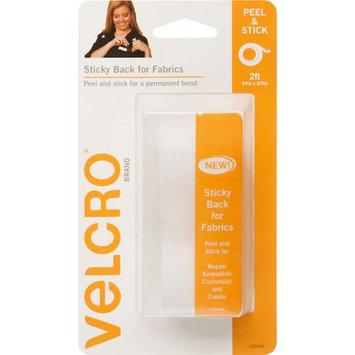 Velcror Brand Fasteners VELCRO(R) Brand STICKY BACK For Fabric Tape .75