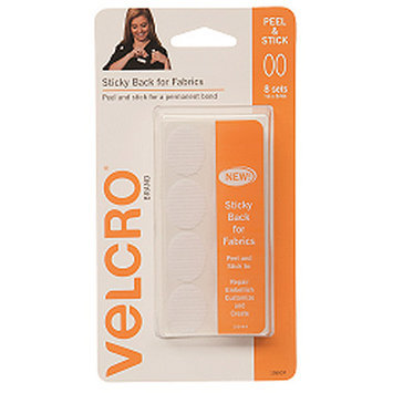 Velcror Brand Fasteners VELCRO(R) Brand STICKY BACK For Fabric Ovals 1