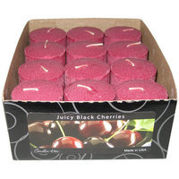 Candlelite 1276565 Votive Black Cherry Candle Pack of 12