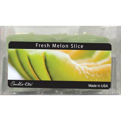 Candle lite 12 Count Fresh Melon Slice Votive Candles