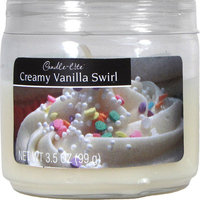 Candlelite 4 Ounce Vanilla Candle Jar 2400570 by Candle Lite
