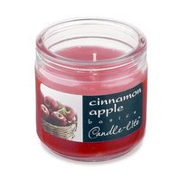 Candle lite 4 Oz Cinnamon Apple Scented Jar Candle