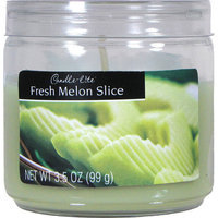 Candle lite 3.5 Oz Fresh Melon Slice Scented Jar Candle