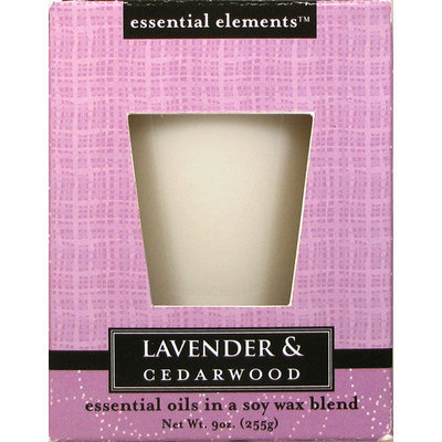 Candle lite 9 Oz Lavender & Cedarwood Scented Candle