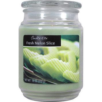 Candle lite 18 Oz Fresh Melon Scented Terrace Jar Candle