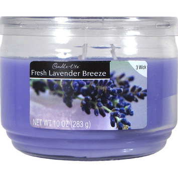 Candlelite Candle lite 10 Oz Fresh Lavender Breeze Jar Candle