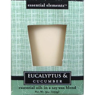 Candle lite 9 Oz Eucalyptus & Cucumber Scented Candle