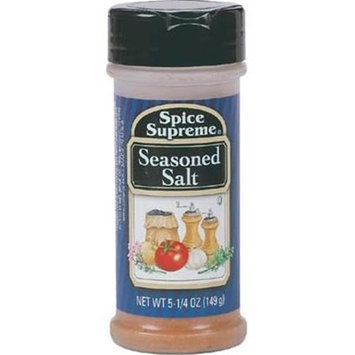 Spice Supreme Spice Supreme Seasoned Salt- Case of 12