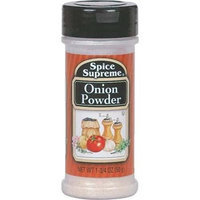 Spice Supreme Spice Supreme Onion Powder- Case of 12